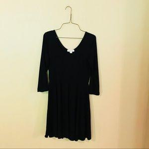 Black Knit Forever 21 Dress